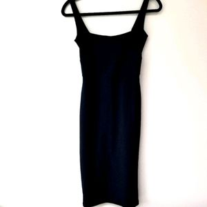 BERSHKA NIGHT LITTLE BLACK DRESS